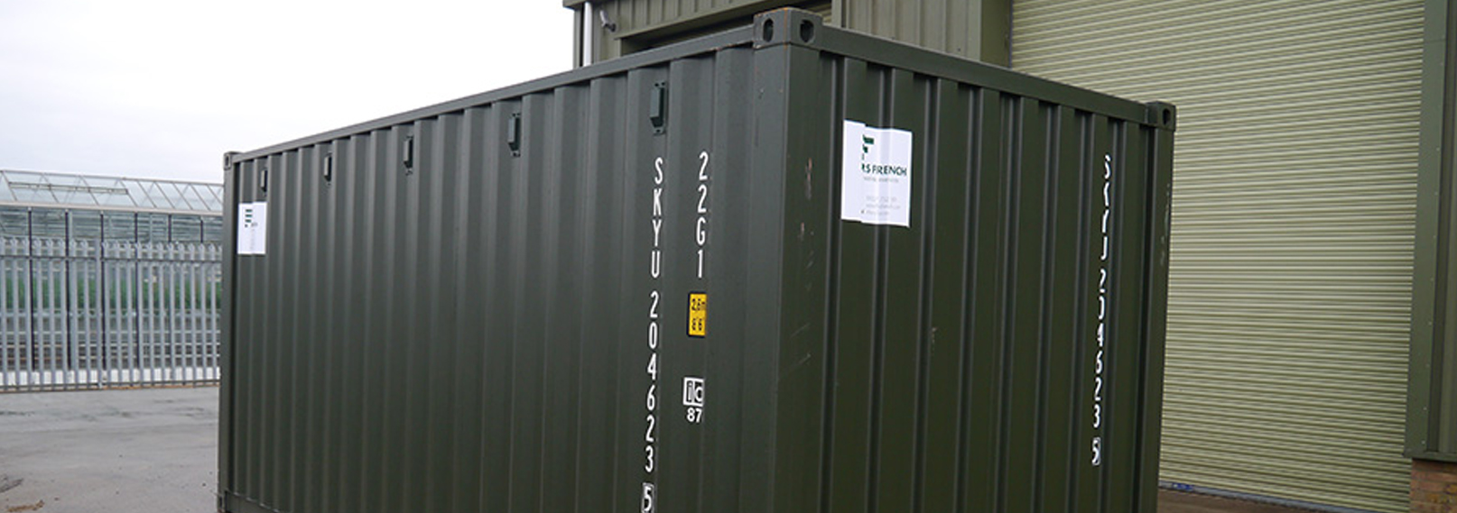 container for hire in kent