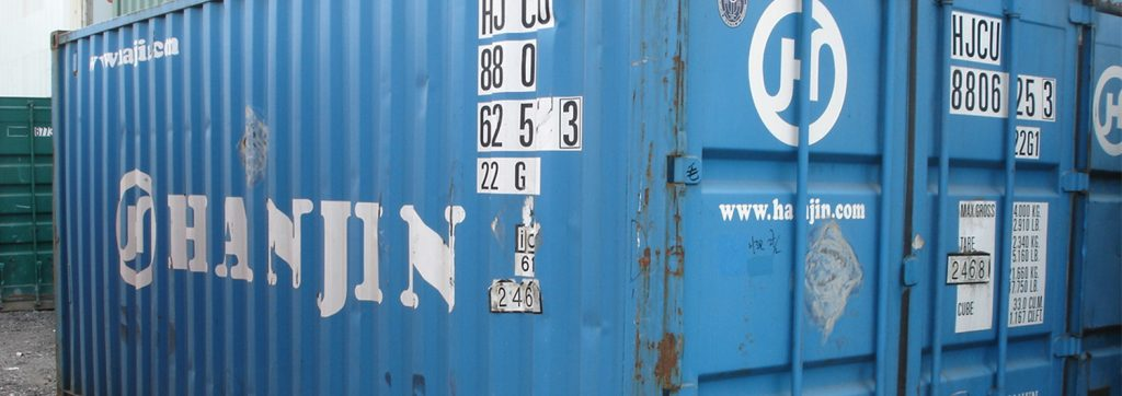 Hanjin container