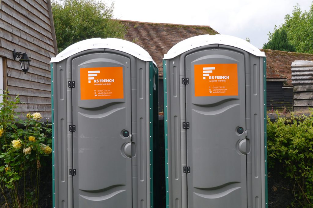 RS French portable toilets