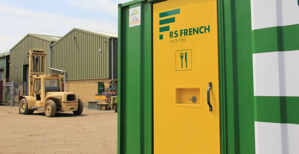 RS French canteen container