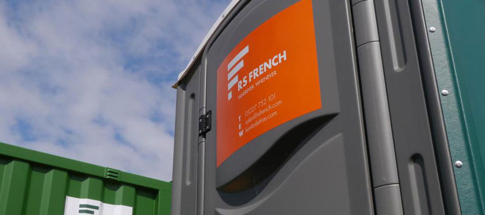 RS French toilet container