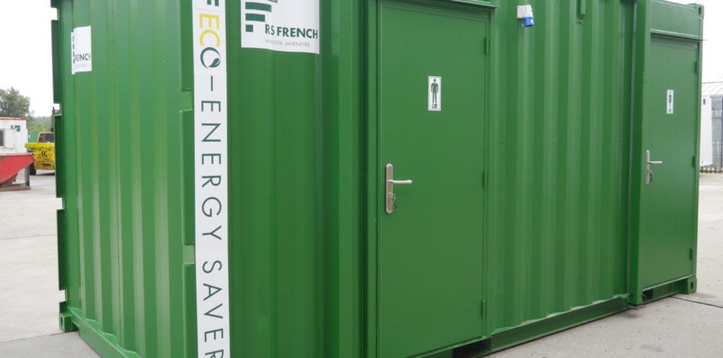 welfare bathroom unit external